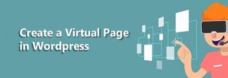 How to create a virtual page in wordpress