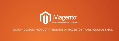 How to display a custom product attributes in magento's transactional email